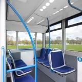 Intérieur Bluebus 6 mètres